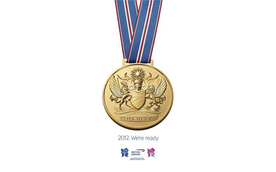 British Airways medal