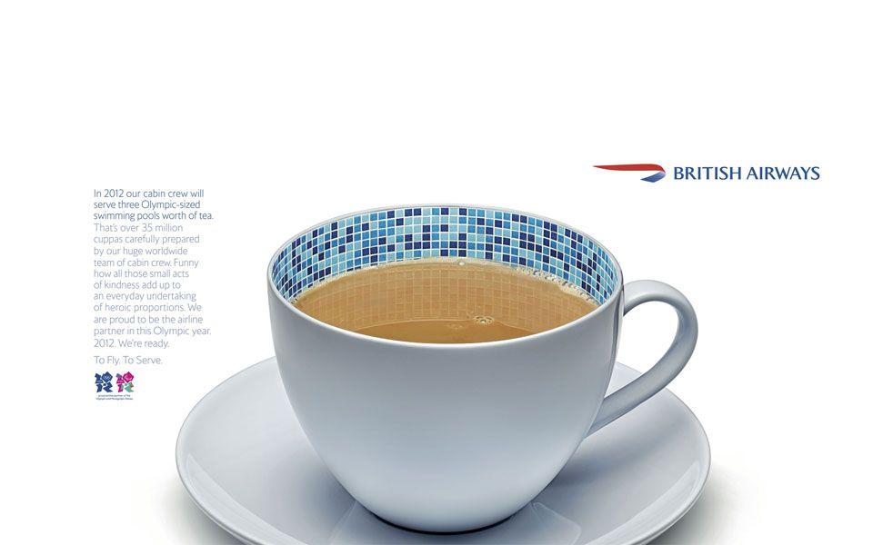 British Airways teacup