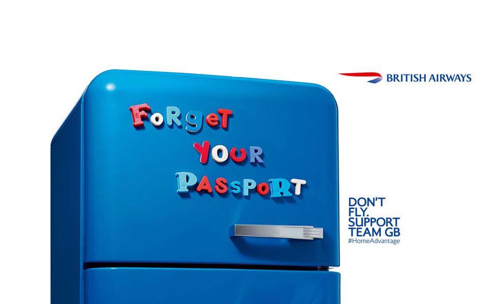 British Airways fridge magnets