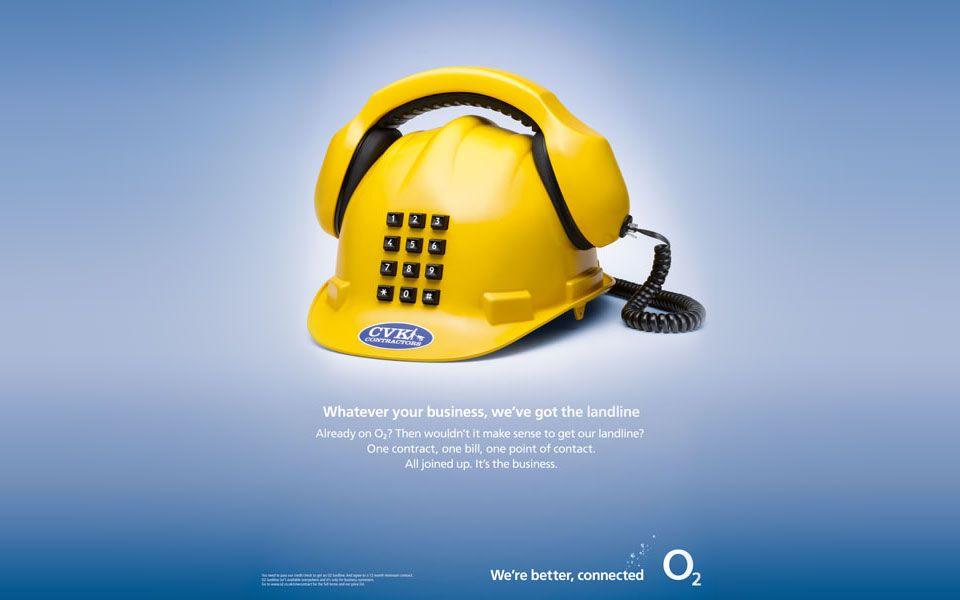 O2 hard hat phone