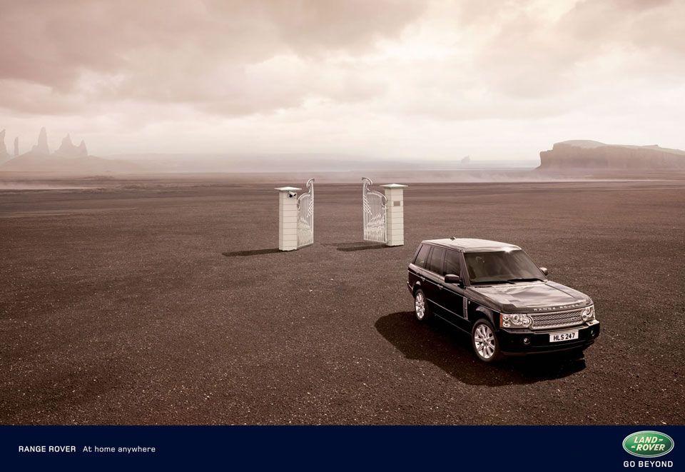 Range Rover sand
