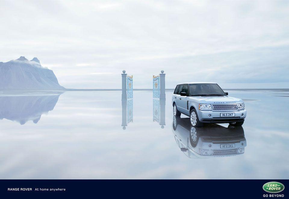 Range Rover water